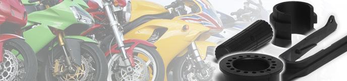 Elastómeros moldeados para motocicleta